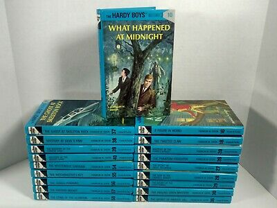 Lot Of 19 The Hardy Boys Books By Franklin W Dixon Assorted Volumes