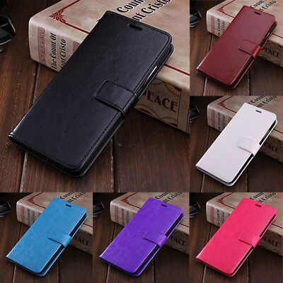 For Samsung Galaxy J6 J4 Plus J8 2018 Magnetic PU Leather Case Flip Wallet Cover