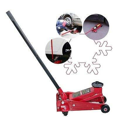 3 Ton Safety Low Profile Portable Handle Racing Floor Jack Rapid Pump Lift Auto