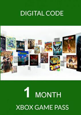 Xbox Game Pass, 1 Month Trial Subscription Code