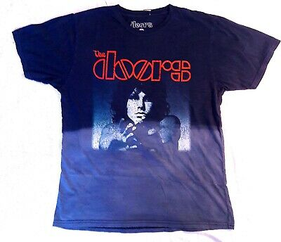 Jim Morrison T-Shirt The Doors Logo Tie Dye rock Official M L XL 2XL NWT
