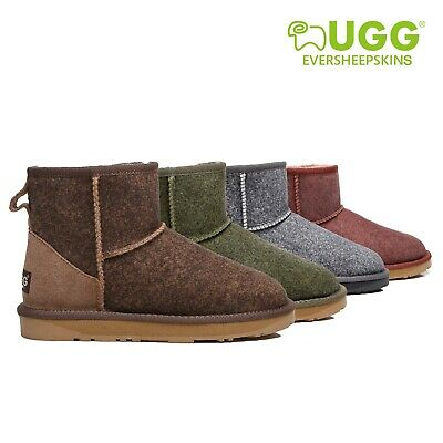 UGG Boots May Mini Ankle Ladies Fashion Premium Sheepskin Water Resistant