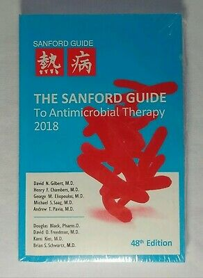 The Sanford Guide to Antimicrobial Therapy 2018 48th Edition