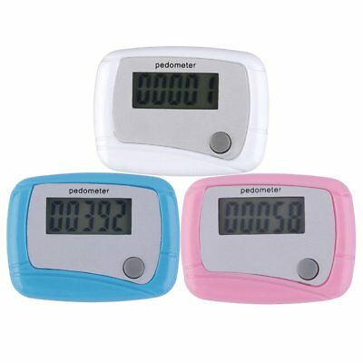 Portable Mini Digital LCD Running Step Pedometer Walking Distance Counter OG