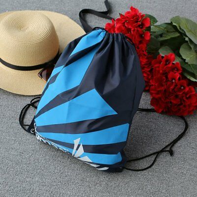 Super Strong Drawstring Gym Bag Backpack for Sports Swimming Beach School New sX
