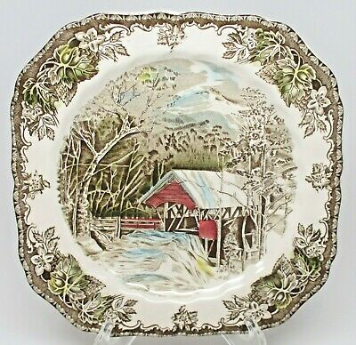 Johnson Brothers The Friendly Village Square Salad Plate(s) Made In England Stmp