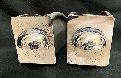 Vintage Matching Pair (2) 1955 Buick Ashtray Chrome Great Original Condition!