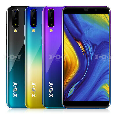 "XGODY P30 Android 9.0 Mobile Phone Quad Core Dual SIM 6.0"" Smartphone Unlocked"