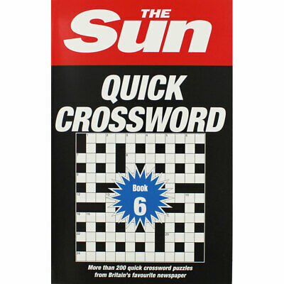 The Sun Quick Crossword - Book 6 by Collins (Paperback), Non Fiction Books, New