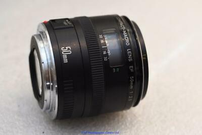 Canon EF 50mm F2.5 Compact Macro lens GREAT CONDITION