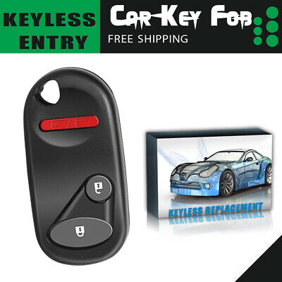Replacement For 01 02 03 04 05 Honda Civic EX LX DX Car Key Fob Remote Control