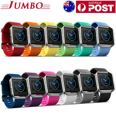 Replacement Silicone Gel Band Strap Bracelet Wristband for FITBIT BLAZE Sport OZ