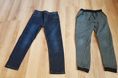 2 X Pair of boys jeans and jogging bottoms age 11-13