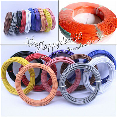 Multi-Color Stranded Equipment Wire18AWG 20AWG 22AWG 26AWG 28AWG Cable Cord