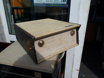 Vintage Record Player Vintage Retro Kitsch Portable Defiant Record Player Yeovil