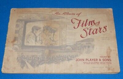 1938 John Player & Sons Film Stars  Album With Complete Set of 50 Cards Series 3