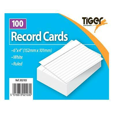 Tiger Revision Flash Index Report Record Cards Students College Office Accessory