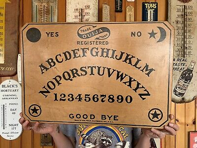 Early 1900's William Fuld Antique Ouija Board and Planchette Original Set