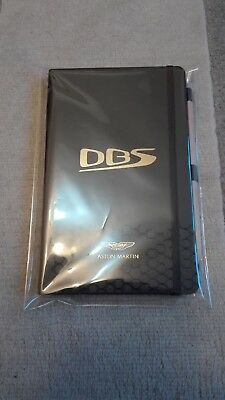 Aston Martin DBS Notebook A5 size in Black