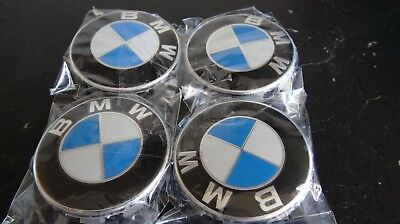 4x Felgendeckel Nabendeckel BMW 36136783536 6783536 68mm