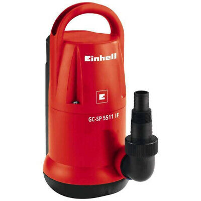 Einhell Pompa a immersione 550W per acque chiare con fondo piatto GC-SP 5511 IF