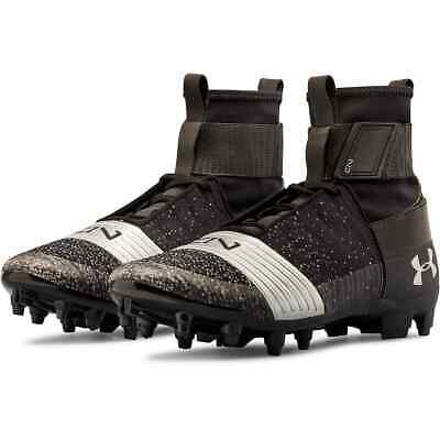 8cd6f7010755 Under Armour Ua C1N Mc Cam Newton Football Cleats Mens Size 13 Black 3000175 -001