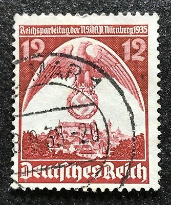 Briefmarke Deutsches Reich - 1935-08-30 - Nuremberg Congress
