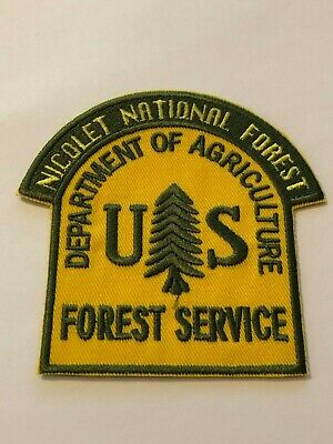 Nicolet National Forest, Wisconsin, Department Of Agriculture, US Forest Service
