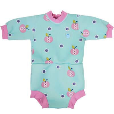 Splash About Happy Nappy Wetsuit - Apple Daisy 2-3 Years - Imperfect