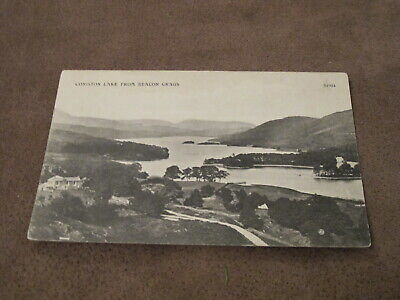 Early Postcard - Coniston Lake from Beacon Crags - Cumbria / Lake District