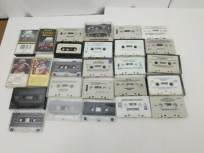 Cassette Tapes Lot of 26 Country Rock Holiday Jazz Soul Classical Compilations