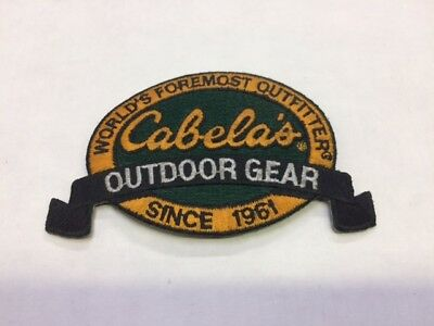 Cabela's Outdoor Gear Iron-on Embroidered patch( buy 1 get 1 free)