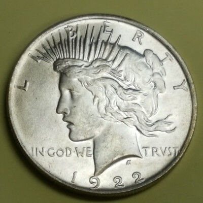 Two Sided 1922 Peace Dollar Coin Double Headed Coin - Shiny