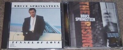 2 Bruce Springsteen Cds- Tunnel Of Love & The Rising 27 songs Excellent