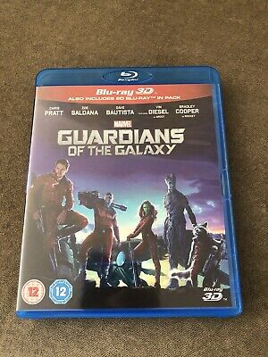 Guardians Of The Galaxy 3D Blu-ray (includes 2D Blu-ray) Marvel.