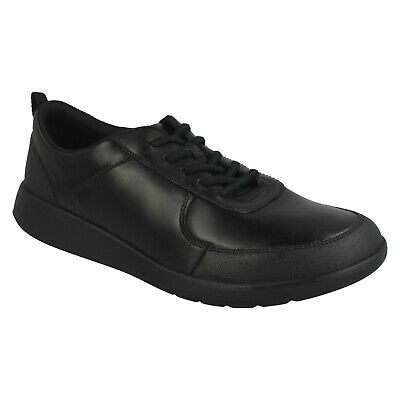 Boys Girls Senior Clarks Scape Street Y Lace School Shoes Kids Formal Youth Size