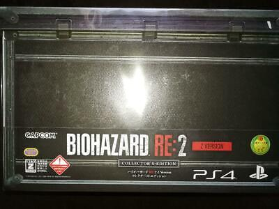 Resident Evil 2 RE2 Biohazard Collector's Edition Z ver PS4 Japan