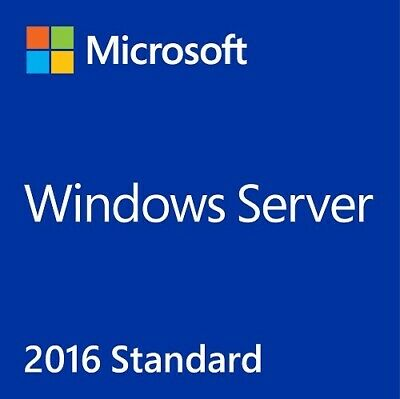 Windows Server 2016 Standard 64-bit License Digital - Multilanguage