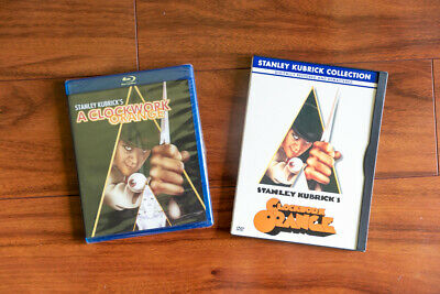 A Clockwork Orange (Blu-ray Disc, 2007, Special Edition) SEALED + DVD