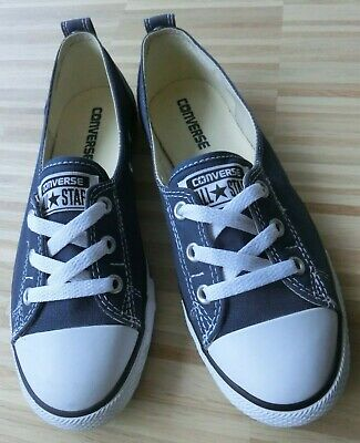 CONVERSE CHUCK TAYLOR All Star Ballerinas Damen Schuhe blau Gr 38 12 UK 5,5