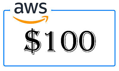 NEW AWS $100 Amazon Web Services Lightsail EC2 PromoCode Credit Code 2020