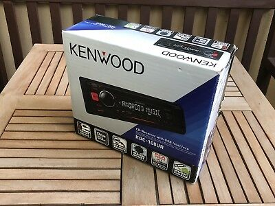KDC 100UR / Kenwood CD / MP3 Auto Radio  / Inkl. Stick / OVP / abnehm.Bedienteil