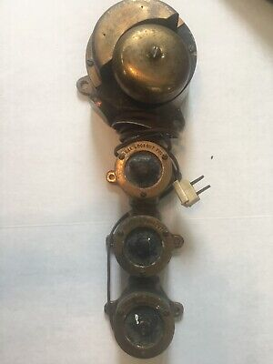 Antique Nautical Ships Communication? Alarm Bell? Brass Vintage Heavy