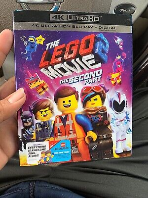 LEGO Movie 2, The: The Second Part (4K UHD + Blu Ray + Digital) w/ SLIP COVER