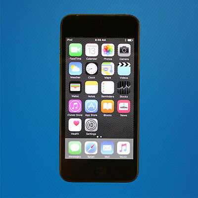 Fair - Apple iPod Touch 5th Generation Space Gray - 16GB - READ INFO - Free Ship