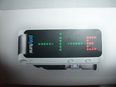 TC Electronic Polytune Clip-On Guitar Tuner, White