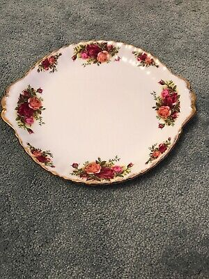 Royal Albert Old Country Roses Cake /  Sandwich / Biscuit Platter