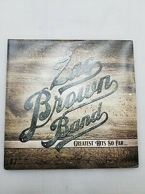 Zac Brown Band Greatest Hits So Far Record LP 4 Sided 2014 Atlantic Records