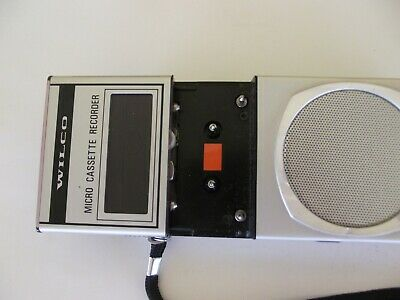 WILCO MICRO CASSETTE RECORDER SS 781 working