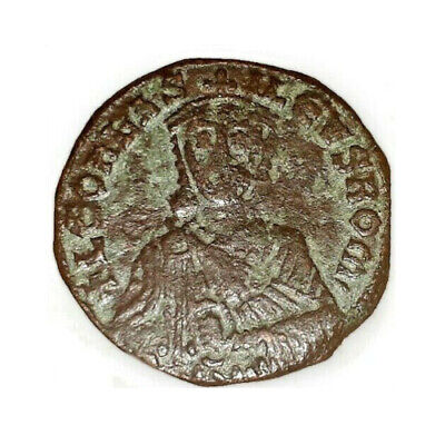 Byzantine Empire, Leo VI (The Wise), AE Follis, 886-912 CE | Constantinople, EF